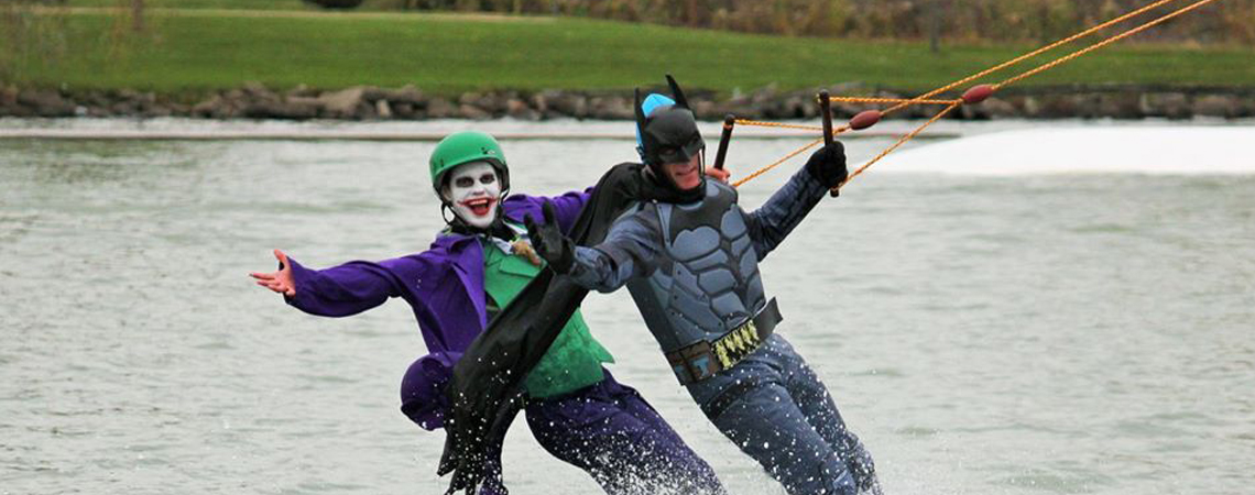 Batman & Joker @ Roseland Wake Park